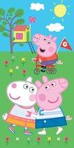 Peppa Pig Badlaken Handdoek Team