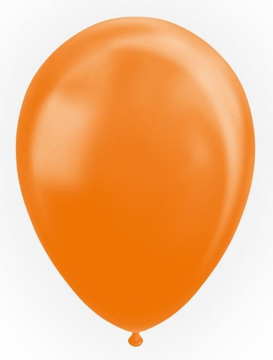 Globos Ballonnen 30,5 Cm Latex Oranje Parelmoer 50 Stuks