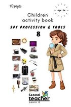 Spy Profession and Tools;children Activity Book-8