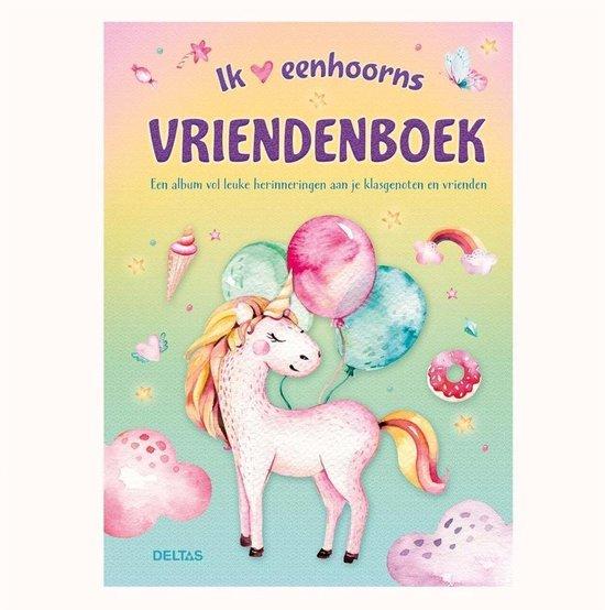 Afbeelding van Unicorn vriendenboek