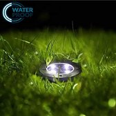 Boveld Grondspot - Solar LED - 1 Stuk - IP65 -Dag-nacht sensor - RVS