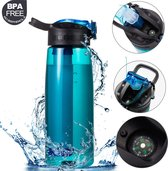 Premium Personal Water Filter Bottle - Duurzaam Waterfilterfles - Waterfles - Outdoor life straw - Survival - Filtert 1500L