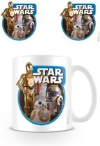 Merchandising STAR WARS 7 - Mug - 300 ml - Droids