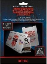 Stranger Things Tech Stickerset