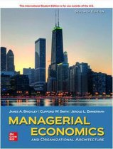 ISE Managerial Economics & Organizational Architecture