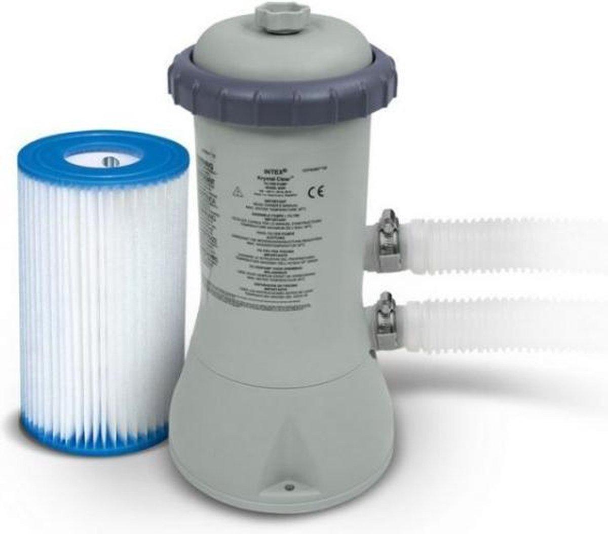 Intex zwembadpomp - 2006 liter per uur - inclusief 1 filter