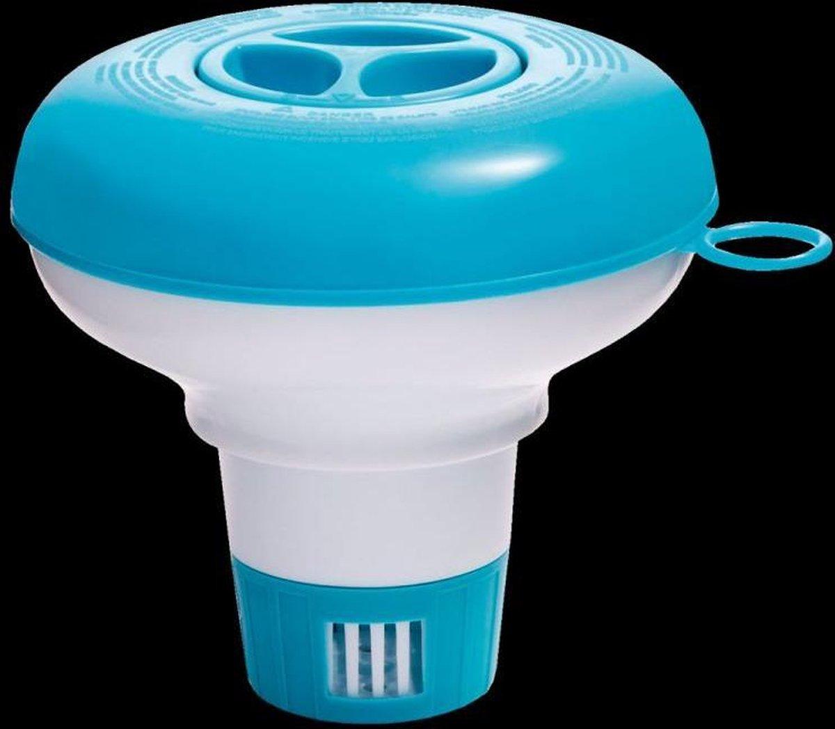 Chloor dispenserbakje - zwembad chloorbakje - drijvend - Intex zwembad accessoire
