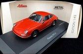 Porsche 911 S Oranje 1-43 Schuco Limited 750 Pieces