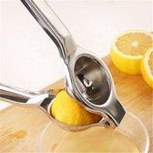 Hoge Kwaliteit KitchenKing Citroenpers - Limoenpers - Handcitruspers - RVS