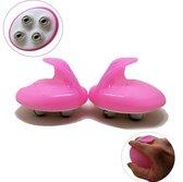 2 st. Massage rollers | rol massage | voor benen, buik, rug, armen en onderkin | foamrollers