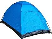 Tent 210X120X95Cm - Blauw En Zwart - 1 Persoons