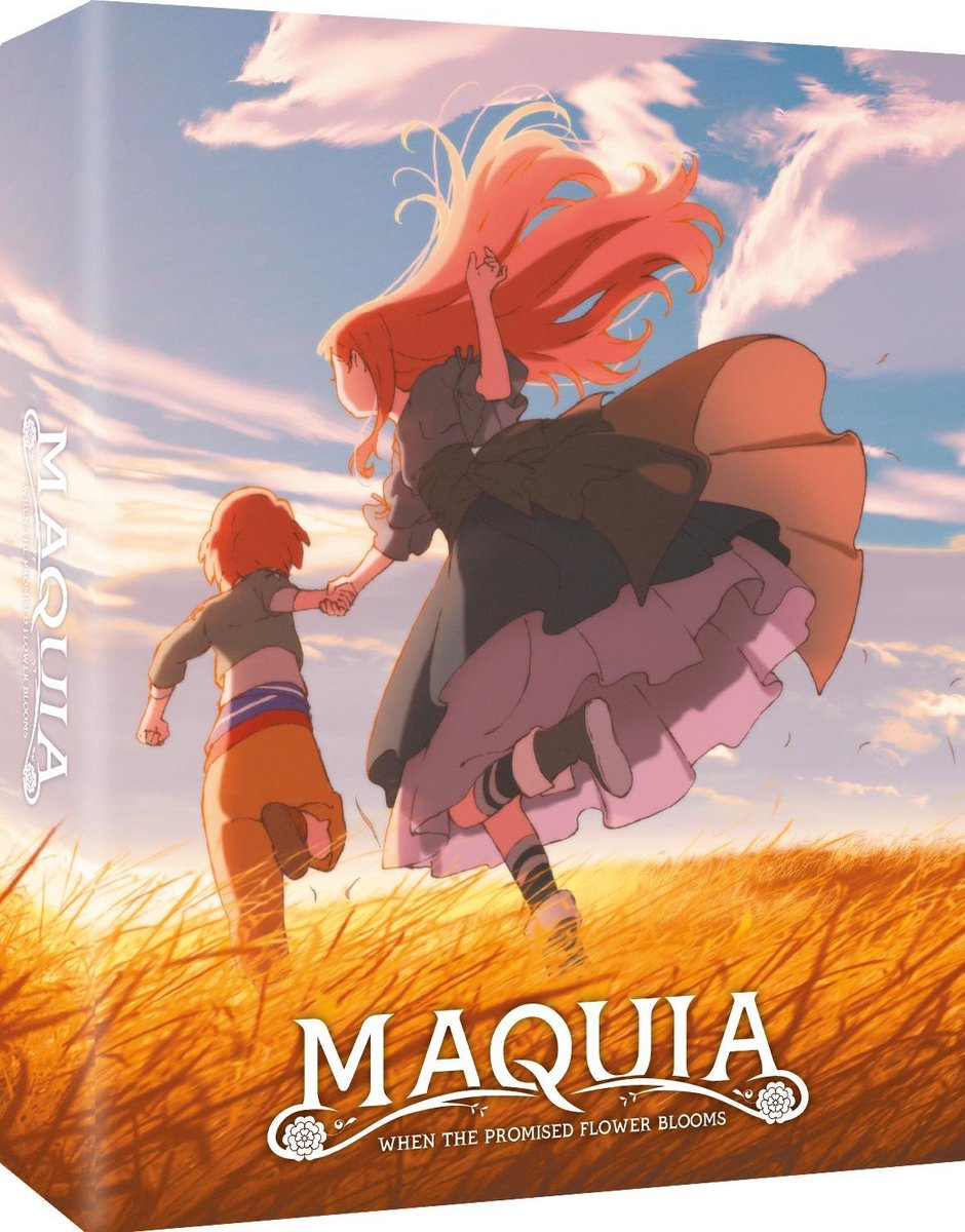 Maquia - When the Promised Flower Blooms - Edition Collector - Combo Blu-Ray + DVD-