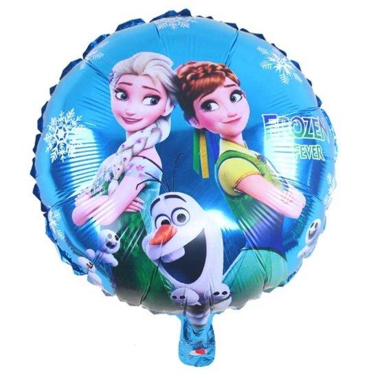 Frozen Elsa & Anna / Olaf Folie Ballon 1+1 GRATIS