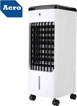 Aero® LED Mobiele Aircooler 3 - 1 | Lucht Koeler / Ventilator - Lucht Bevochtiger - Lucht Reiniger / Zuiveraar | Met Afstandsbediening