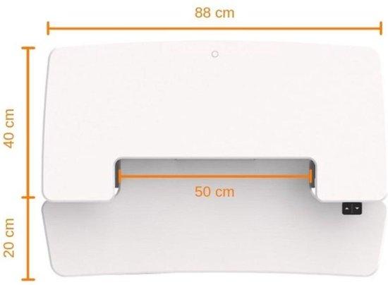 UPdesk - Stabureau - Bureau verhoger - Cross - Elektrisch
