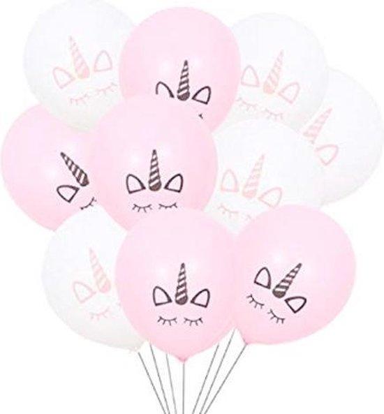 Ballonnen Set – 10 Stuks – Eenhoorn – Unicorn Ballonnen – Verjaardagsfeest - Kinderfeest