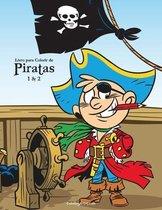 Livro para Colorir de Piratas 1 & 2