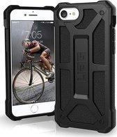 UAG  Monarch Series Apple iPhone SE (2020) Case - Zwart