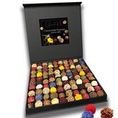 ChocolaDNA ultieme luxe doos chocolade Paas bonbons (truffels) - 100 stuks