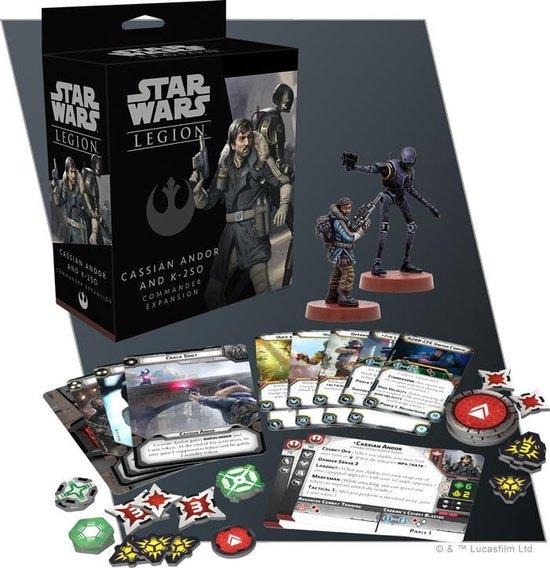 Afbeelding van het spel Star Wars Legion: Cassian Andor & K-2SO Commander Expansion