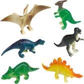 Amscan Speelfiguren Dinosaurus Jongens 8 Stuks