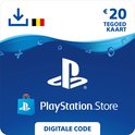 20 euro PlayStation Store tegoed - PSN Playstation Network Kaart (BE)