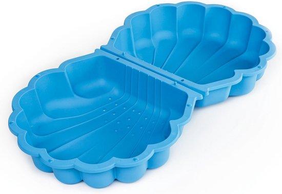 2 x Zandbak / Zwembad schelpen - 87 x 78 cm - Deksel - Blauw