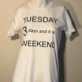 Merkloos / Sans marque Normaal Normaal Dames T-shirt Maat S