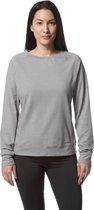 Craghoppers Sweater Nosilife Sydney Dames Polyester Grijs Mt 40