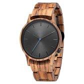 NorthWatch   Houten horloge   Zebra   Sandelhout