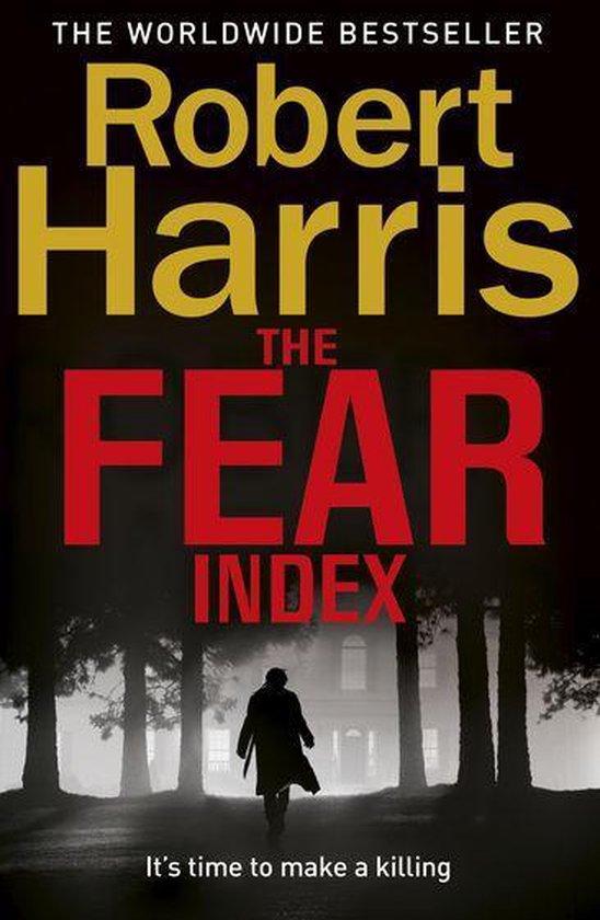 Boek cover The Fear Index van Robert Harris