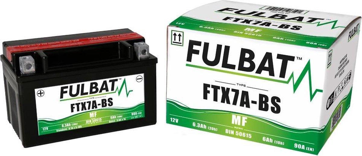 FULBAT FTX7A-BS MOTOR ACCU