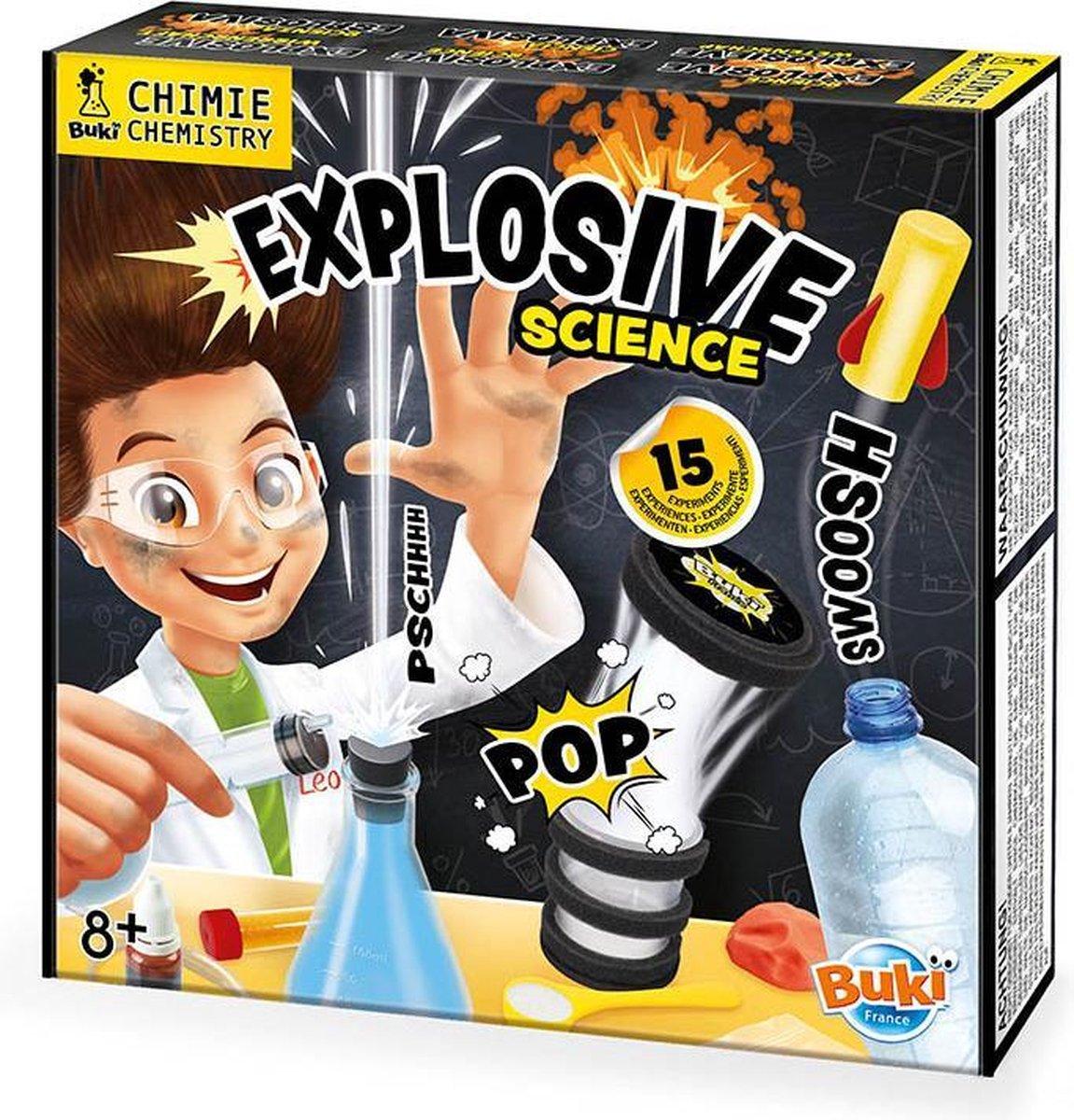 Explosieve Wetenschap Experimenteerset
