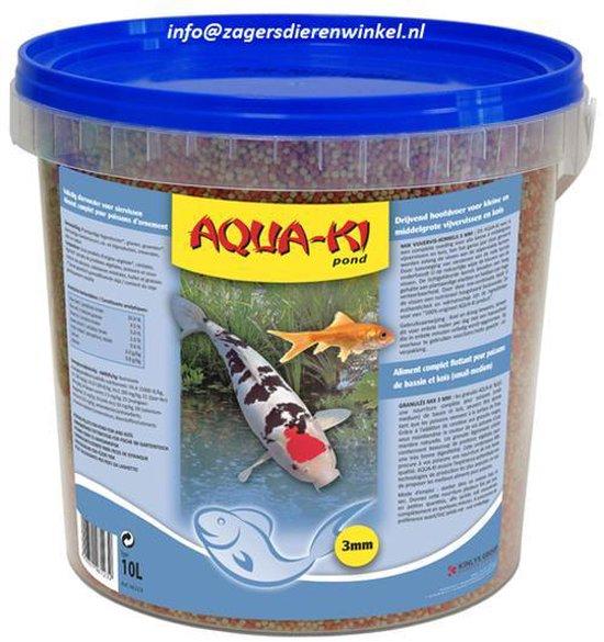 Aqua-Ki Blauw Vijverkorrels 3mm - 11 LTR