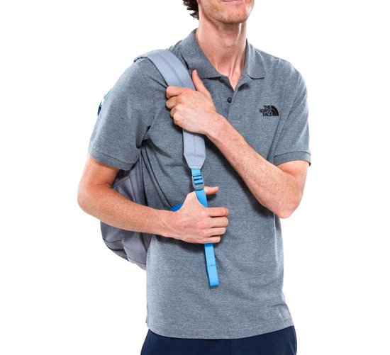 The North Face Polo Piquet Poloshirt Heren - Grijs