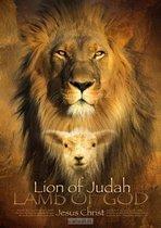 Christelijke Poster Leeuw van Juda