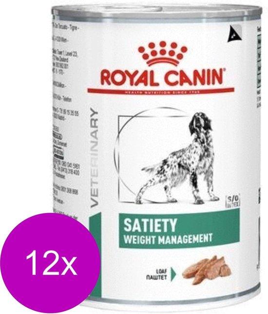Royal Canin - Satiety - Hondenvoer - 12 x 410 g