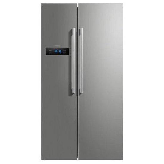 Koelkast: Inventum SKV1780R - Amerikaanse koelkast - RVS, van het merk Inventum