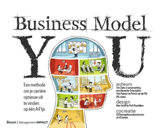 Boek cover Business model you van Timothy Clark (Hardcover)