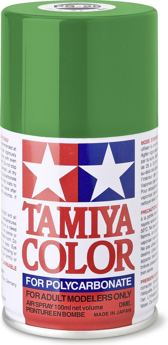 TAMIYA PS-25 Helder groen (spuitbus 100ml)