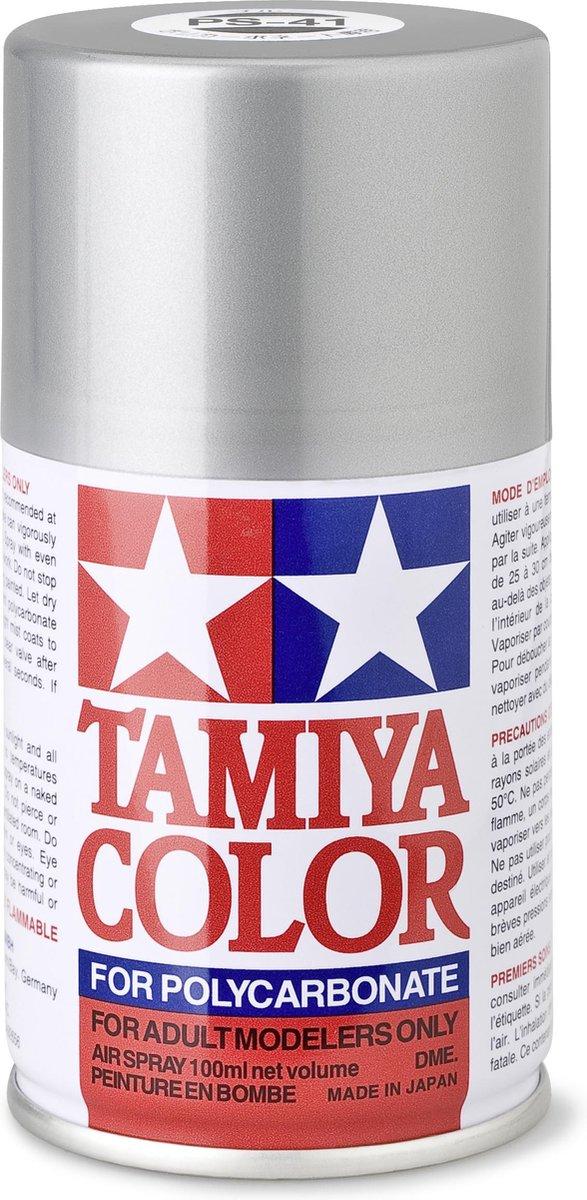 TAMIYA PS-41 Bright Silver (spuitbus 100ml)