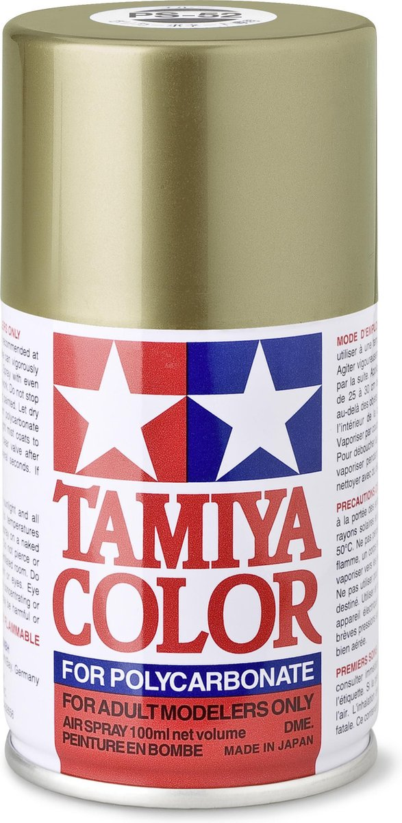 TAMIYA PS-52 Champagne goud anodized aluminium (spuitbus 100ml)