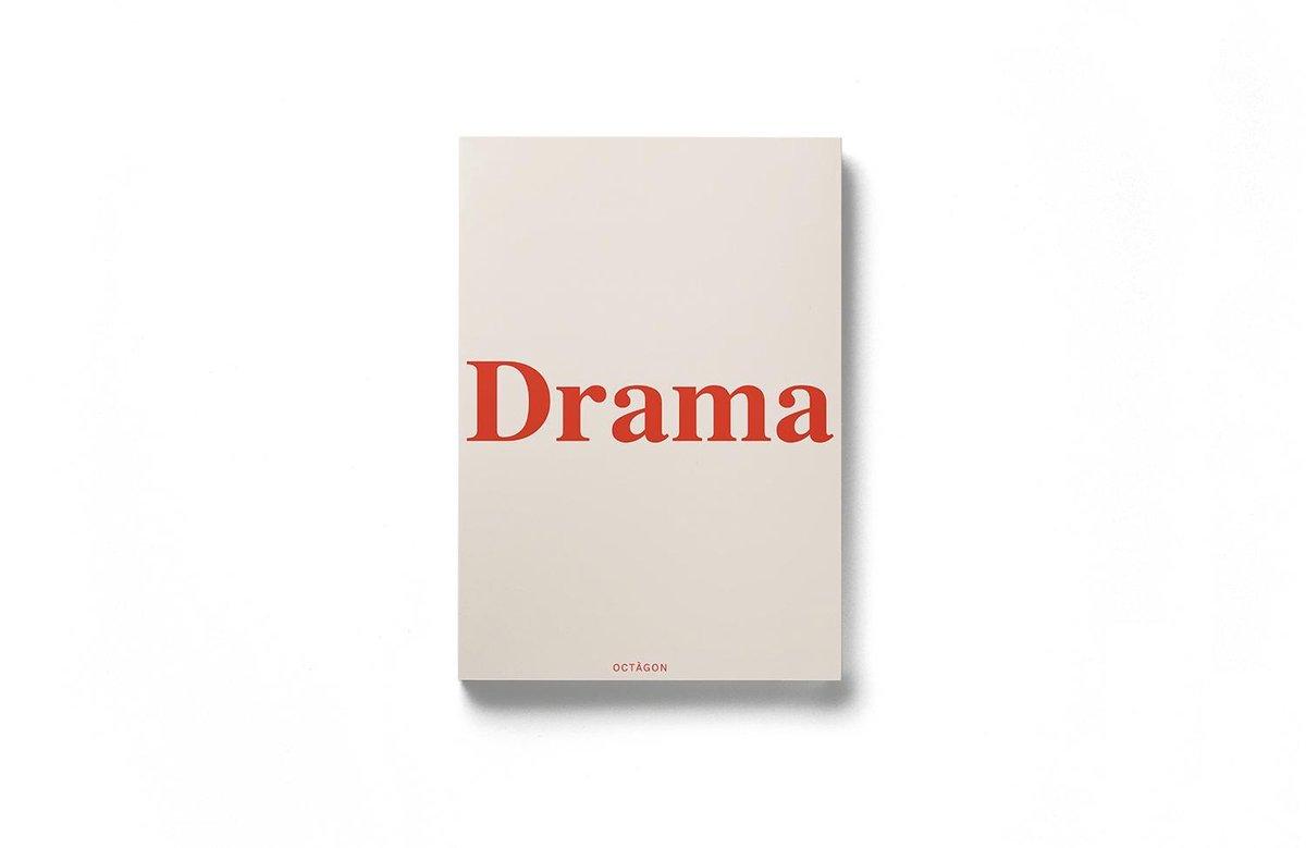 Octagon DRAMA. Notitieboek / Bullet Journal Cream