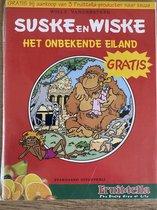 Suske en Wiske het onbekende eiland ( omkeer strip 2-talig )