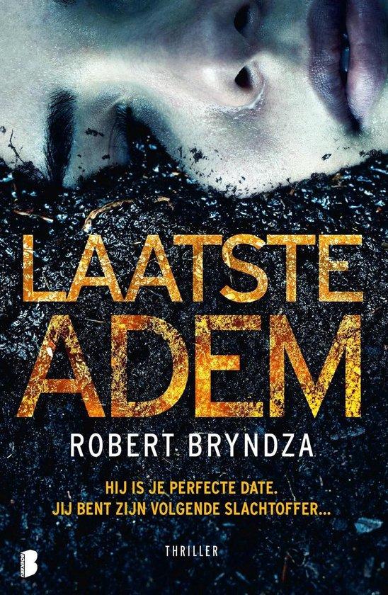 Boek cover Laatste adem van Robert Bryndza (Onbekend)