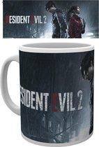 Resident Evil 2 Rain Key Art Mok