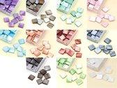 Mozaiek Steentjes Set - 11 Kleuren - 10x10mm