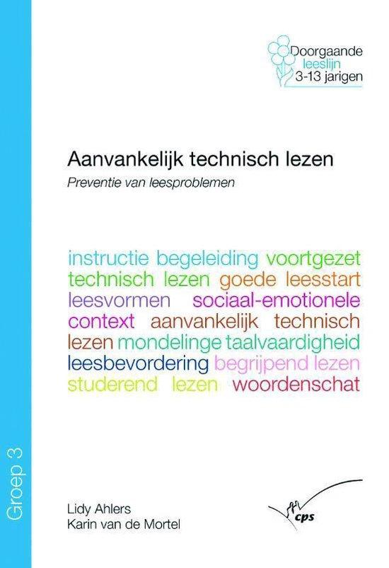 Aanvankelijk technisch lezen Groep 3 - L. Ahlers |