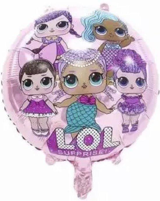 L.O.L Folie Ballon 18 inch (Roze)