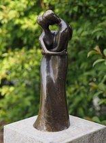 Beeld van echt brons – 49 cm hoge bronzen beelden liefde | GerichteKeuze